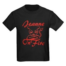 Jeanne On Fire T