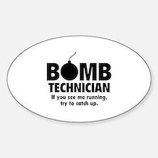 Bomb Technician Decal