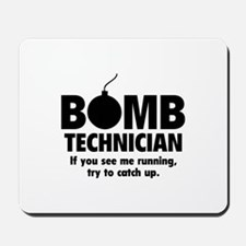 Bomb Technician Mousepad