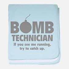 Bomb Technician baby blanket