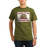 OBAMAS REAL DADDY Organic Men's T-Shirt (dark)