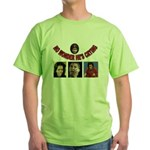 OBAMAS REAL DADDY Green T-Shirt