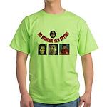 OBAMAS REAL DADDY Green T-Shirt