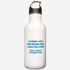 I'm Sorry Water Bottle