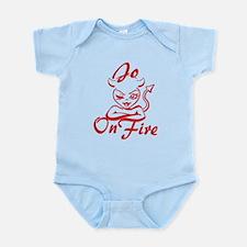 Jo On Fire Infant Bodysuit