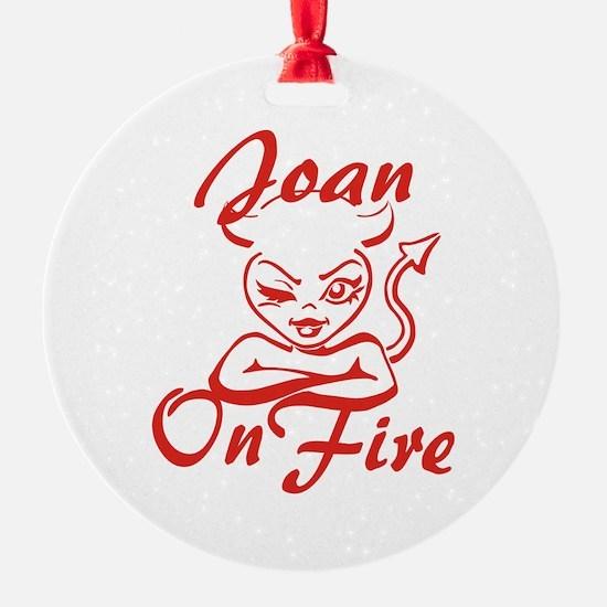 Joan On Fire Ornament