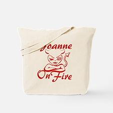 Joanne On Fire Tote Bag