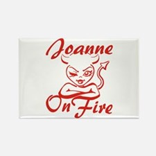Joanne On Fire Rectangle Magnet
