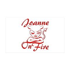 Joanne On Fire Wall Decal