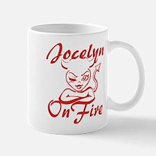 Jocelyn On Fire Mug