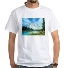Mountain Spring Landscape Shirt