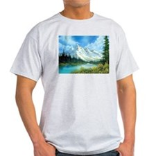 Mountain Spring Landscape T-Shirt