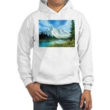 Mountain Spring Landscape Hoodie