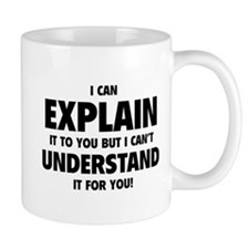 Explain Understand Small Mugs