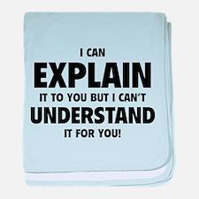 Explain Understand baby blanket