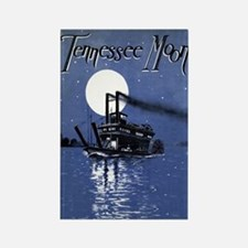 Tennessee Moon Rectangle Magnet