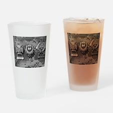 Combat Engineeer Drinking Glass