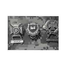 Combat Engineeer Rectangle Magnet
