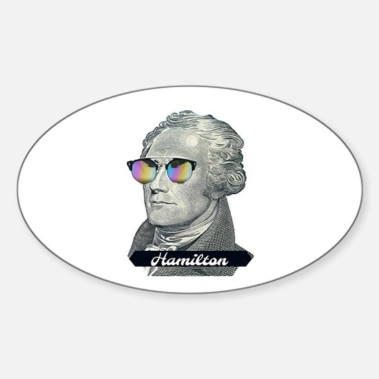 Hamilton with Shades Decal