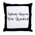 The Childish Throw Pillow