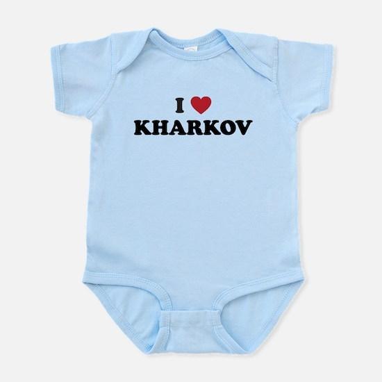 I Love Kharkov Infant Bodysuit