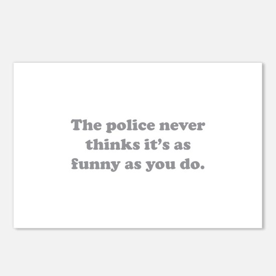 The Police Postcards (Package of 8)