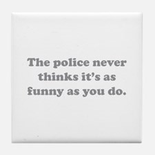 The Police Tile Coaster