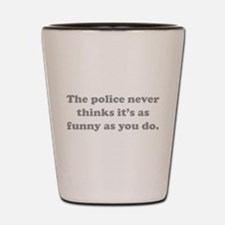 The Police Shot Glass