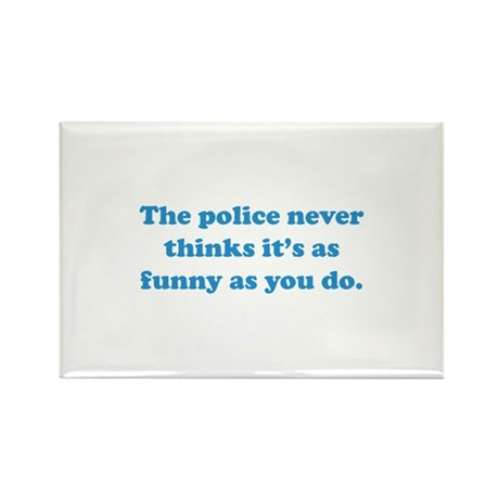 The Police Rectangle Magnet (10 pack)