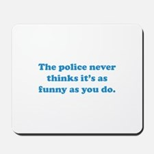 The Police Mousepad
