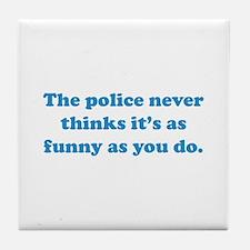 The Police Tile Coaster