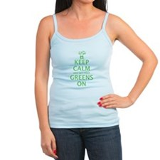 Keep calm and get your greens on Jr. Spaghetti Tan