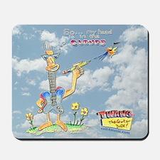 """Twang"" In the Clouds Mousepad"