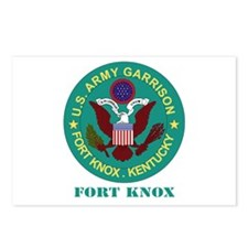 Fort Knox with Text Postcards (Package of 8)