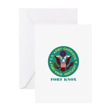 Fort Knox with Text Greeting Card