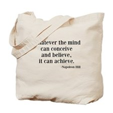Napoleon Hill Quote Tote Bag