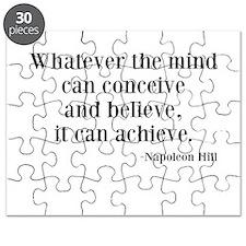 Napoleon Hill Quote Puzzle