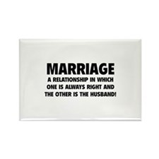 Marriage Rectangle Magnet