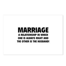 Marriage Postcards (Package of 8)