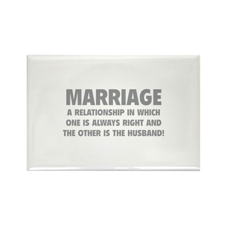 Marriage Rectangle Magnet (10 pack)