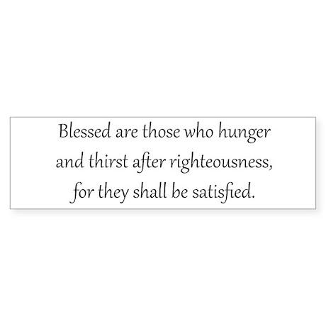 Righteousness, Black on White, Beatitudes