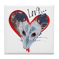 Possum Love Tile Coaster