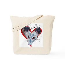 Possum Love Tote Bag