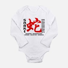 Chinese New Years of The Snake Long Sleeve Infant