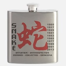 Chinese New Years of The Snake Flask