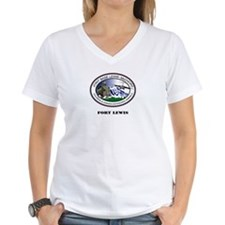 Fort Lewis with Text Shirt