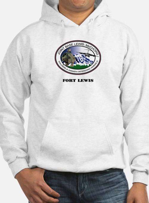 Fort Lewis with Text Hoodie