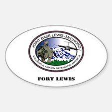 Fort Lewis with Text Decal