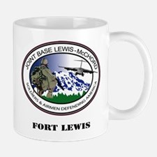 Fort Lewis with Text Mug