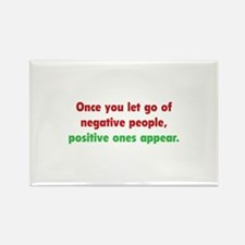 Positive People Rectangle Magnet